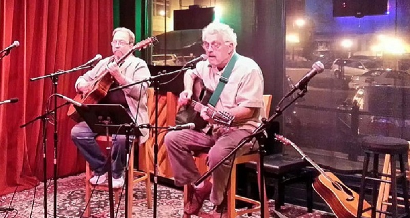 Guyz With Bad Eyez - Merv Collins has dazzled audiences with his masterful fingerstyle acoustic guitar. Don Humbertson adds soaring vocals and great guitar playing. Together they are Guyz With Bad Eyez.